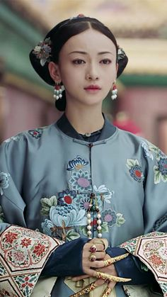 Empresses In The Palace, Dynasty Clothing, Chinese Movies, Japanese Calligraphy, Chinese Clothing, Ancient Jewelry, Movie Costumes, Qing Dynasty, Chinese Culture