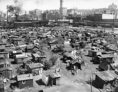 1934 Seattle WA Inside the shantytowns of the Great Depression