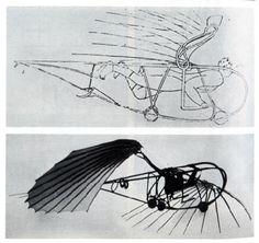 Vladimir Tatlin -- Letatlin flying machine (1932)