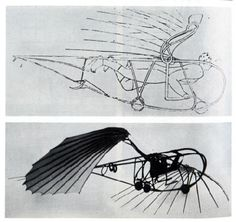 Vladimir Tatlin -- Letatlin flying machine (1932)