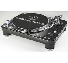 Audio-Technica LP1240 USB Turntable: This superbly made, professional quality DJ turntable is designed primarily for DJ use in nightclubs, touring and mobile applications. It can also be used by music lovers to play their record collections at home
