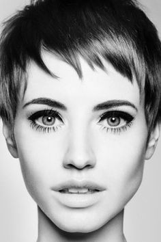 Super short bangs,  Retro Hairstyle