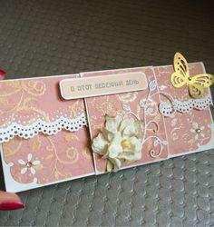 Купить Конверт для денег - розовый, Конверт для денег, конверт, конверт ручной работы, конверт на свадьбу