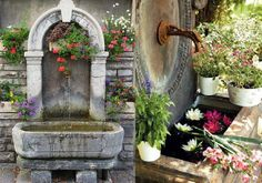 30+ Όμορφες και Παραμυθένιες Πέτρινες Βρύσες – CASAS IDEAS