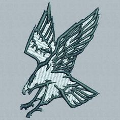 Digitized #goldeneagle - true flat rate embroidery digitizing - prices start at $5.99 per design.  Email your artwork in pdf jpg or png format to indiandigitizer@gmail.com.  http://ift.tt/1LxKtC5  #FlatRateEmbroideryDigitizing #Indiandigitizer  #embroiderydigitizing  #embroidery  #naice