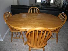 wood kitchen tables for sale
