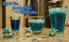 Water Pokemon drinks