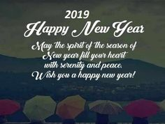 happy new year 2019 sayings