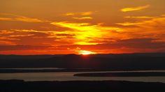 Watching the sunset on Cadillac Mtn. Acadia National Park, National Parks, Acadia Maine, Sunset Landscape, Beautiful Sunset, Cadillac, Sunsets, Sunrise, Landscapes