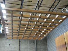 Ceiling Panels Suspended Ceilings Wood Grid Ceiling