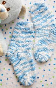 Alfie's Socks Knitting Pattern   Red Heart