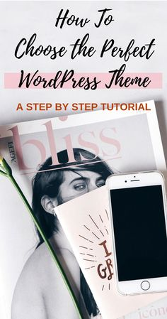 Learn How to Choose The Perfect  WordPress Theme for Your Website - with this easy step by step guide + learn how to install the theme in 2 minutes! click through for the full guide @ www.hedonistit.com
