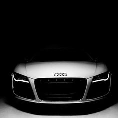 An amazing visual of a Audi R8