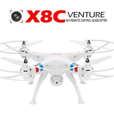 1 Product Specifications Syma X8C 4CH 2.4Ghz 6-Axis Gyro RC Quadcopter w/ 2MP HD…