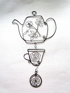 čajová súprava by astra - SAShE.sk - Handmade Dekorácie beautiful!