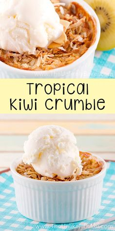 Tropical Kiwi Crumble
