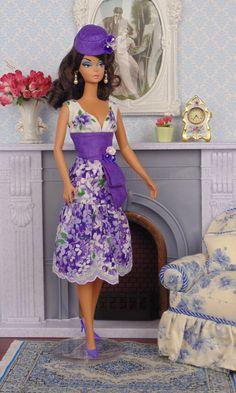 Lilaciana for Silkstone Barbies by HankieChic on Etsy