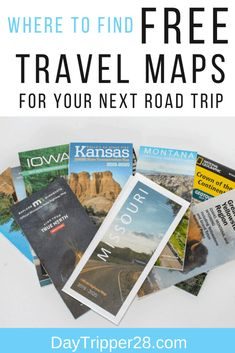 Do you prefer GPS or Maps when you road trip? I like to keep both handy that's why I always grab a free State Map before I leave. Travel Maps, Free Travel, Road Trip Hacks, Camping Hacks, Nyc Subway Map, Road Trip Adventure, United States Map, Free State, Adventure Activities