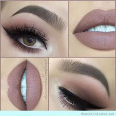 90's inspired eye makeup for brown eyed girls - http://watchoutladies.net/18-brown-eyed-make-up-tutorials-to-try-now/