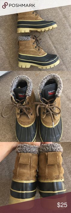 Thermolite steel shank duck boots In very good condition. Shoes Rain & Snow Boots