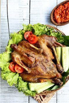 Ayam Goreng Kalasan Catatan Nina Makanan Dan Minuman Resep Ayam Makan Malam