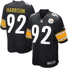 fa85f35fb Nike Limited Mens Pittsburgh Steelers #92 James Harrison Team Color Black  NFL Jersey$89.99 Nfl