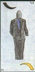 48- L'HOMME - Carte NEUTRE : Homme de plus de 30 ans et de moins de 65 ans. A l'endroit, brun A l'envers, blond Personnalité : Personne tenace et sûre d'elle. Personne fragile qui se cache sous une carapace. http://othoharmonie.unblog.fr/category/oracle-ge/