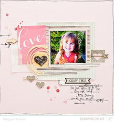 Love You {Studio Calico February Kits} by Maggie Holmes