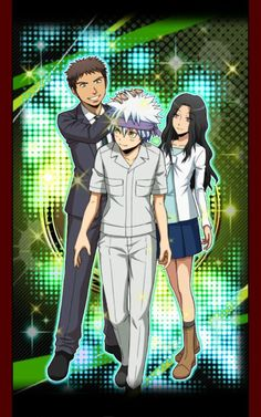 Ansatsu Kyoushitsu/Assassination Classroom, Mobile game card, Terasaka Ryoma, Horibe Itona & Hazama Kirara