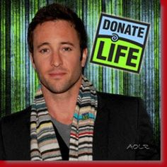 Alex helps with Donate Life, so should you!