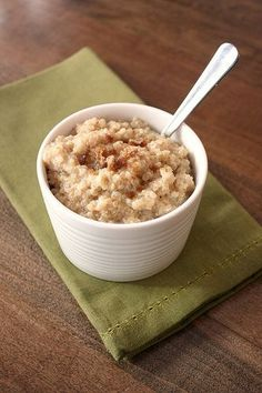 Breakfast Quinoa-- made this last week- it is so incredibly yummy- way better than oatmeal (and I love oatmeal!)