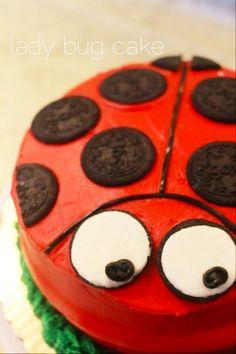 Coccinelle - 10 idées de gâteaux pour une fête d'enfants