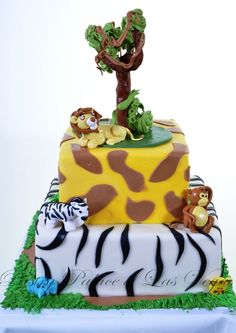 Pastry Palace Las Vegas - Baby Shower Cake #955 – Adding to the Ark