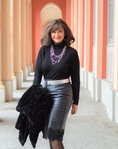 Good Woman, Race Day Outfits, Leder Outfits, Middle Aged Women, German Women, Sexy Older Women, Sexy Boots, Casual Look, Well Dressed
