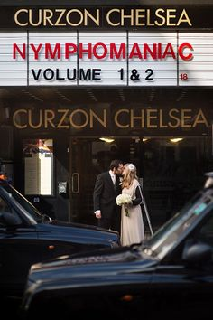 Chelsea Town Hall wedding / Chelsea Curzon cinema, Kings Road.  Blog post here!