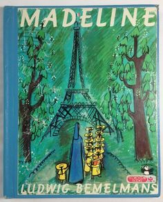 Madeline for Madeleine. (Btw, Ludwig Bemelmans' daughter's name WAS Madeleine. Madeline Book, Edition Jeunesse, Ludwig Bemelmans, Belle France, Michel De Montaigne, 100 Books To Read, Feminist Books, Back In The 90s, The Lone Ranger