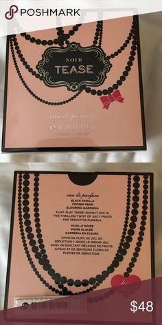 Victoria's Secret Noir Tease perfume -1.7 fl oz New - in sealed box.                                    Scent: Black Vanilla, Frozen Pear, Blooming Gardenia Victoria's Secret Other