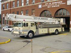Monessen Volunteer Fire Department - Monessen, Pennsylvania  #niceride #firetrucks #setcom  http://setcomcorp.com/twin-talk-fire-wireless-headset.html
