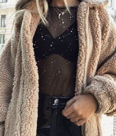 outfit inspiration | teddy coat