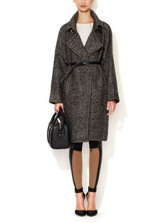 Chella Belted Over Coat by Stella & Jamie, on sale now.
