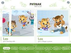 Phonak Leo the lion cub loves to listen but has some challenges - FM technology