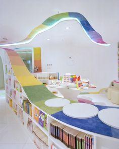 marjorie.blog: arquitetura e construção: REPÚBLICA KID'S - Biblioteca Infantil - Pequim