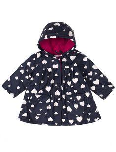 Veste de pluie trapèze doublée de polaire pour bébé fille - Mode Choc | Le grand magasin de la mode