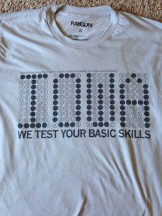 Raygun Basic Skills shirt