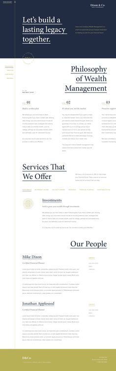 Web Design Service In Toronto by Illusivedesign Inc. We specialize in custom design and development of e-commerce and business websites Web Design Trends, Web Ui Design, Page Design, Design Websites, Brand Design, Flat Design, Layout Design, Web Layout, Webdesign Inspiration
