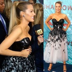 """Blake Lively op Instagram: """"#TheShallows premiere. Terrible at hiding my excitement."""""""