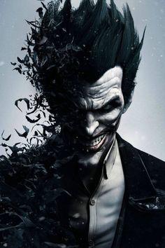 Batman The Joker Arkham City Game Art Wall 24x36 inch Poster