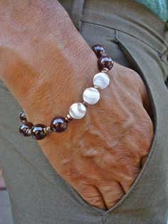 Bohemian Love Commitment Protection Bracelet with par tocijewelry