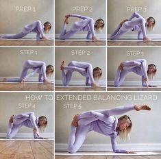 Yoga Poses For Back, Easy Yoga Poses, Yoga Poses For Beginners, Partner Yoga, Namaste Yoga, Yoga Meditation, Lizard Pose Yoga, Quad Stretch, Pranayama