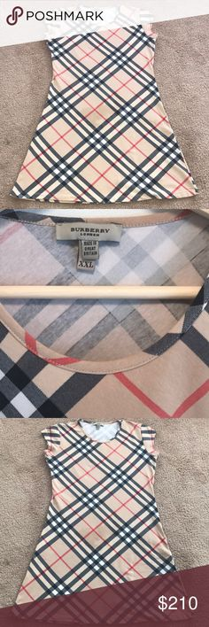 Burberry! Dress by Burberry! Slim fit! It fits good at Xl & L! Burberry Dresses High Low